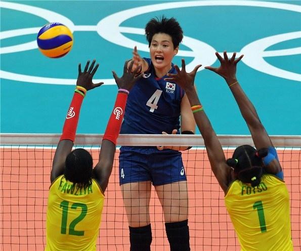 韓國女排進攻