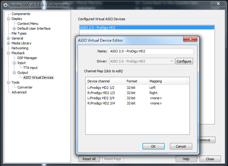 Prodigy HD2 driver v1 08 Support ASIO in Windows-7 64-bit