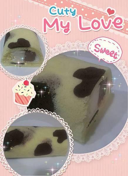 乳牛蛋糕奶凍捲