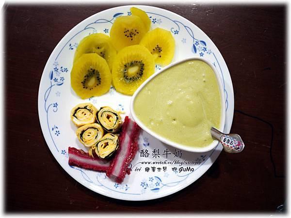 0914紫蘇蛋捲早餐014
