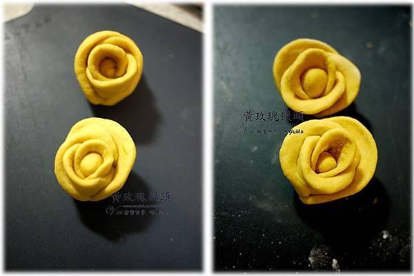 0109黃玫瑰饅頭916