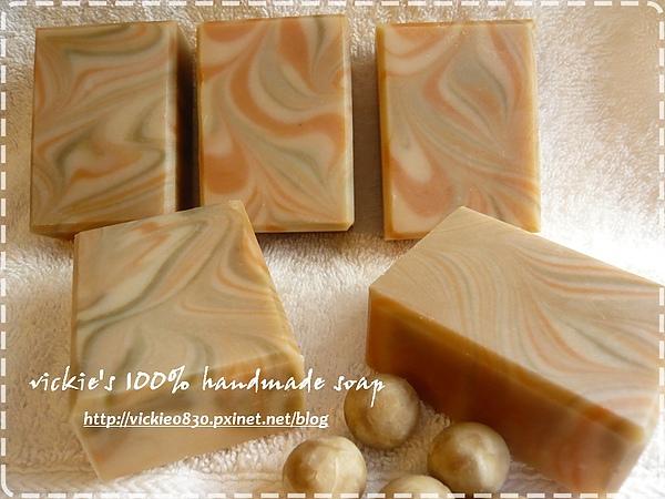 990915杏桃可可蛋皂