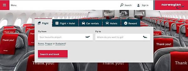 挪威航空訂票 000