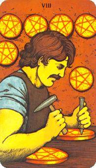 eight-pentacles