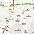 新堂洞辣炒年糕地圖(韓)