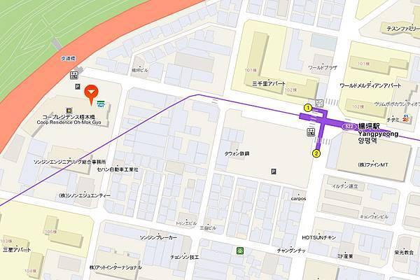 永登浦COOP地圖