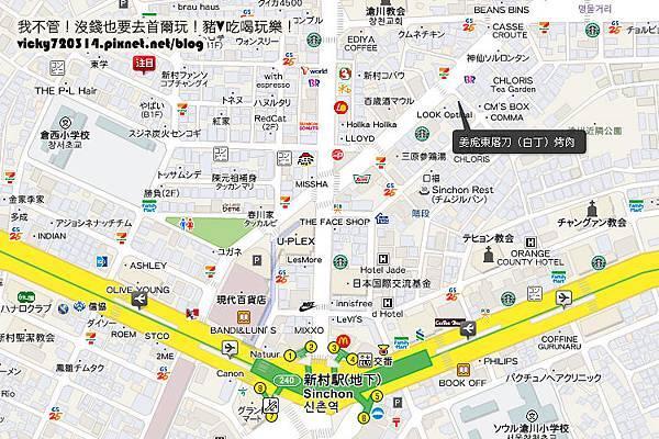 新村姜虎東地圖