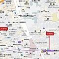 仁寺洞花園茶院地圖