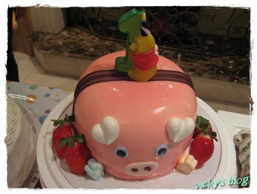 浩北鼻ㄉ小豬蛋糕