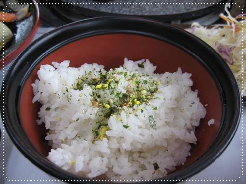 白飯+海苔好吃