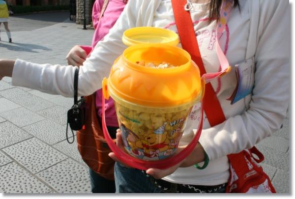 樂園ㄉ維尼桶~蜂蜜口味喔!