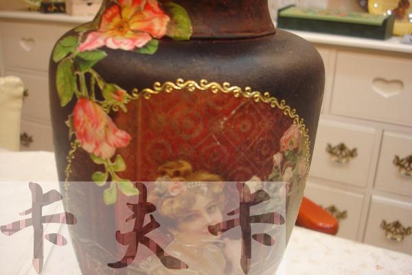 拼貼Decoupage蝶古巴特-卡夫卡拼貼彩繪藝術彩繪商品製作過程12.jpg