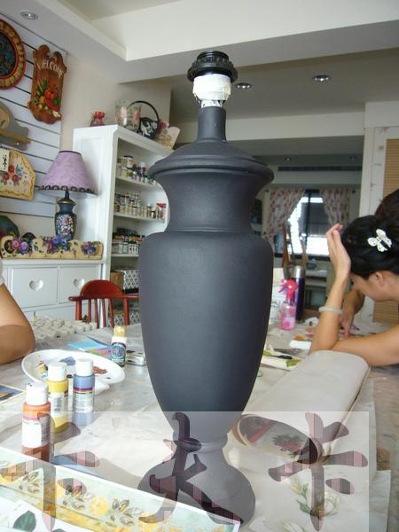 拼貼Decoupage蝶古巴特-卡夫卡拼貼彩繪藝術彩繪商品製作過程10.jpg