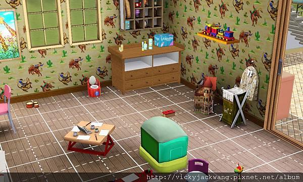 小孩房給超多玩具,是算遊戲室吧