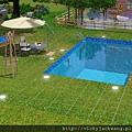笛諾家泳池-休憩運動的場所,尋找繪畫靈感,文學創作好地方~