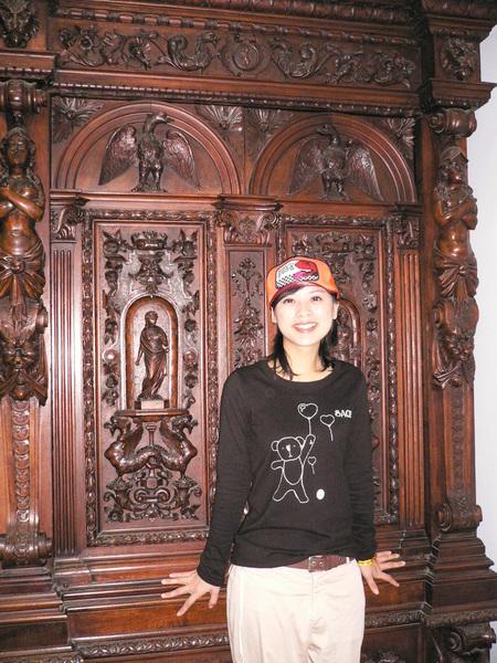 漂亮的木櫃