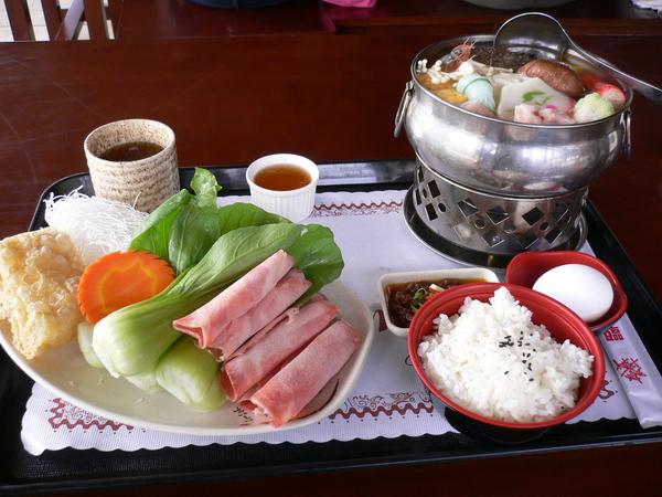 午餐~南洋風味的小火鍋