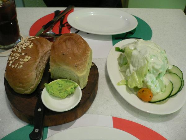 前菜沙拉&餐包