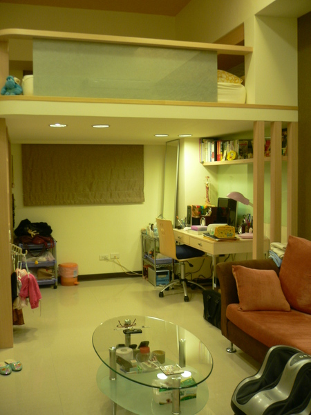 客廳 & 書房