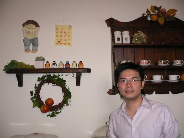 也是飯廳的壁飾