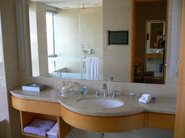 豪華的浴室