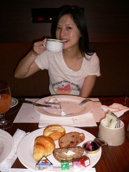 歐陸西餐廳自助早餐
