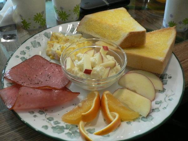 麻麻的歐式早餐
