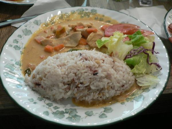 拔拔的泰式椰汁雞