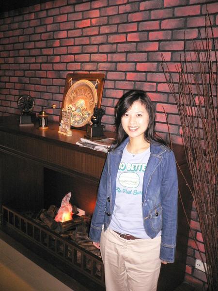 麻麻喜歡這有FEEL的壁爐