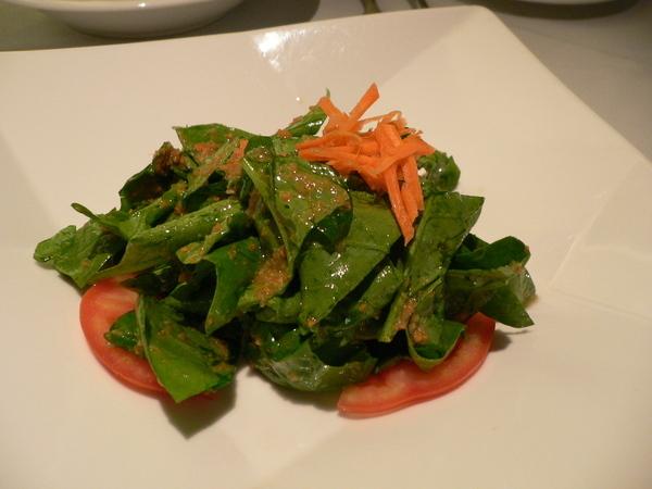 拔拔的沙拉好吃的菠菜沙拉