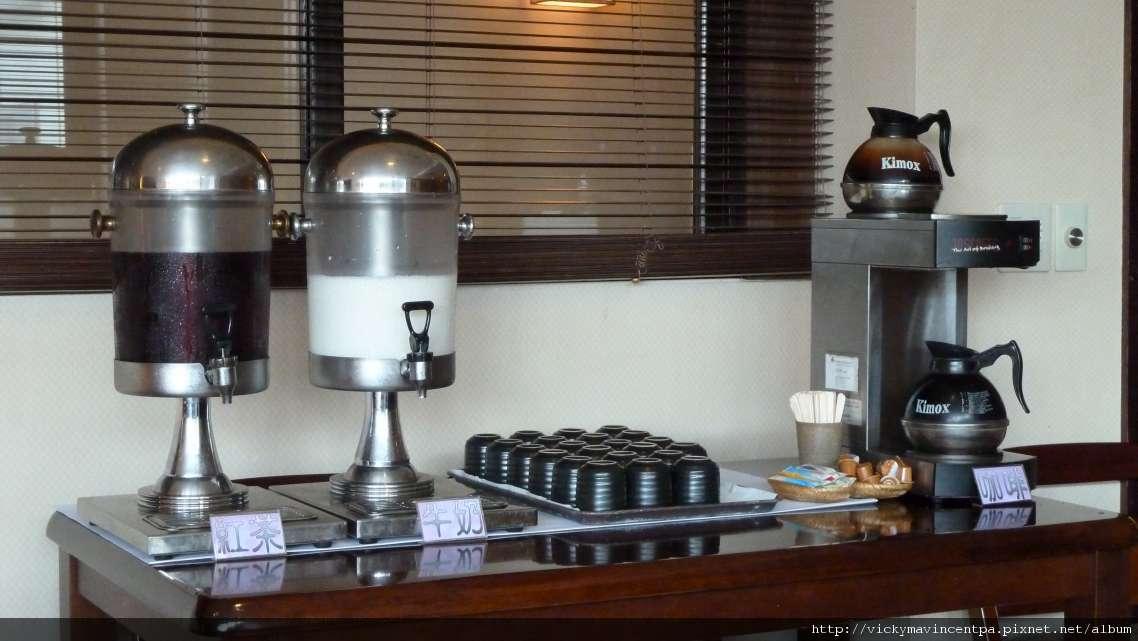 冰牛奶&熱咖啡