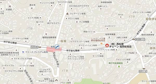 西松屋map