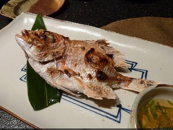 不知生魚片改選烤魚