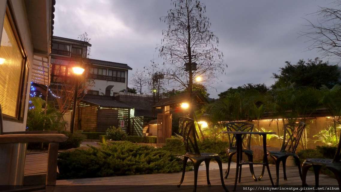 日式的庭園造景
