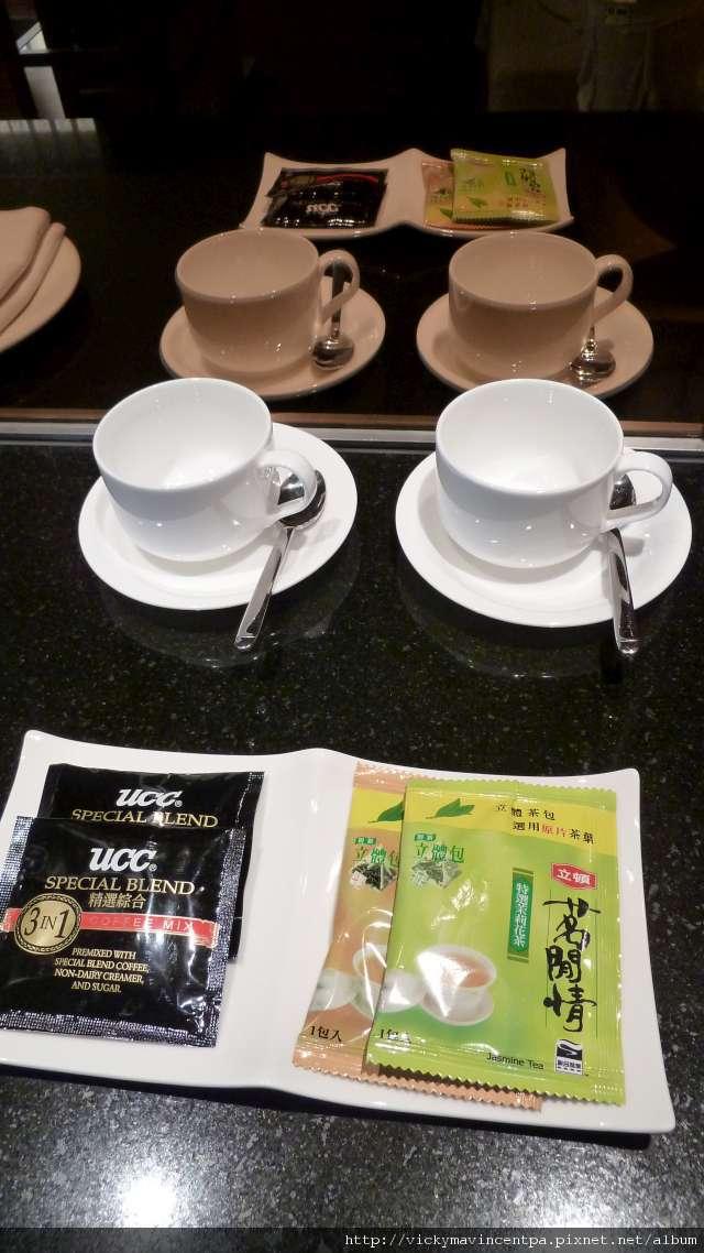 免費的茶包&咖啡包