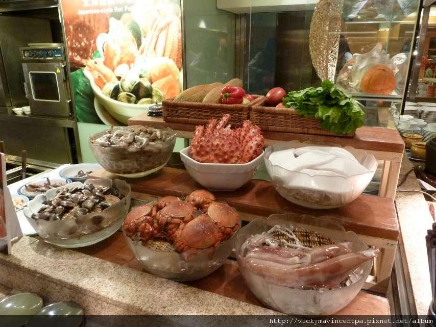 石狩鍋的食材