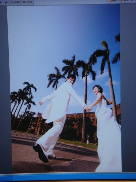 婚紗搶先看@NTU開心外拍
