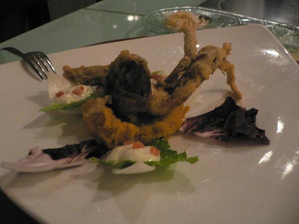 軟殼蟹沙拉