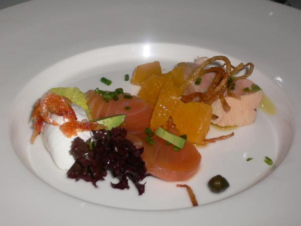 兩種鮭魚的饗宴