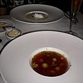 干貝濃湯 & 蘑菇雞湯