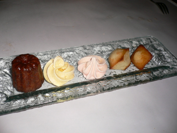 主廚招待之甜點排排站