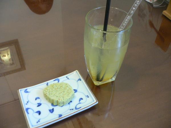 餐後飲料冰柚子茶