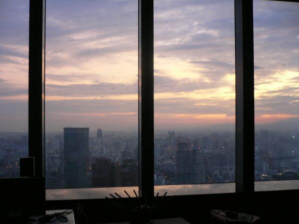 台中市的晨曦