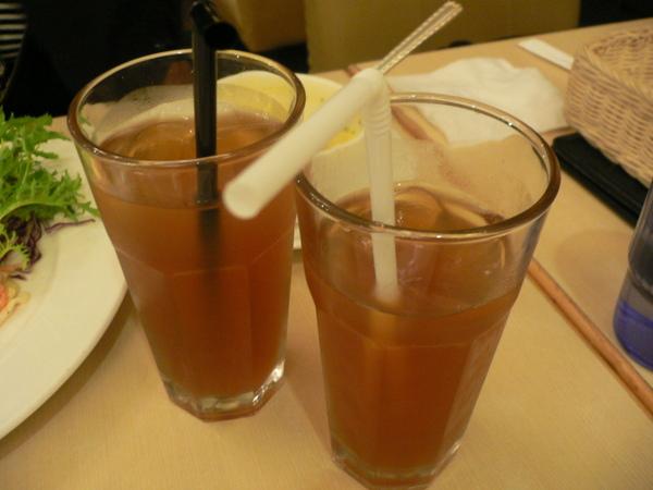 水蜜桃冰茶