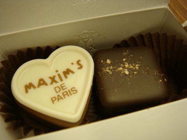 巧克力長這樣~