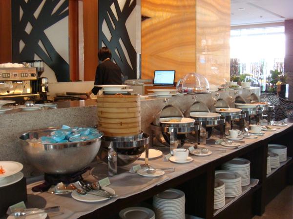 早餐buffet