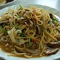 炒麵~有股香香的香菇味