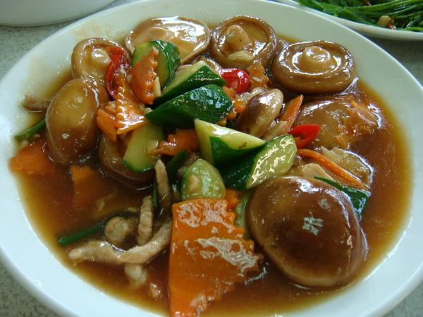 生炒鮮香菇