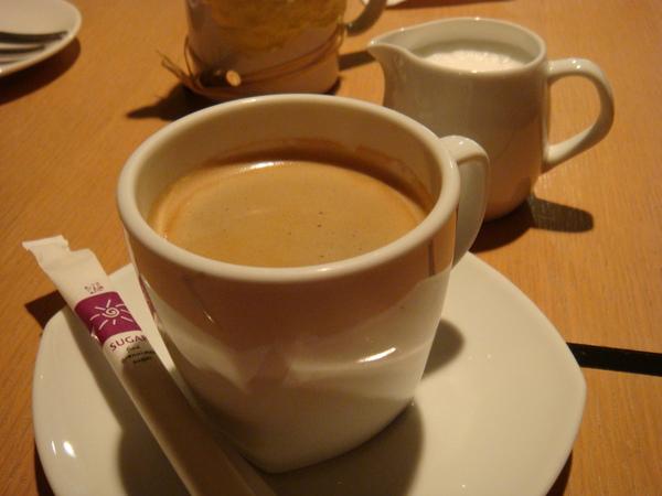 咖啡超級好喝的~!!