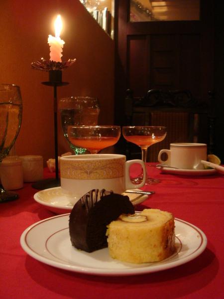 巧克力蛋糕好吃~